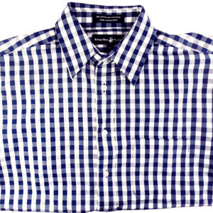 Beverly Hills Polo Checkered Button-Down